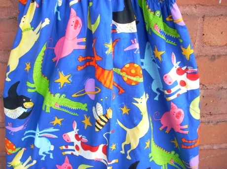 Far Out Animals in Space Sundress