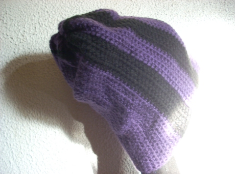Crocheted Grape Beenie