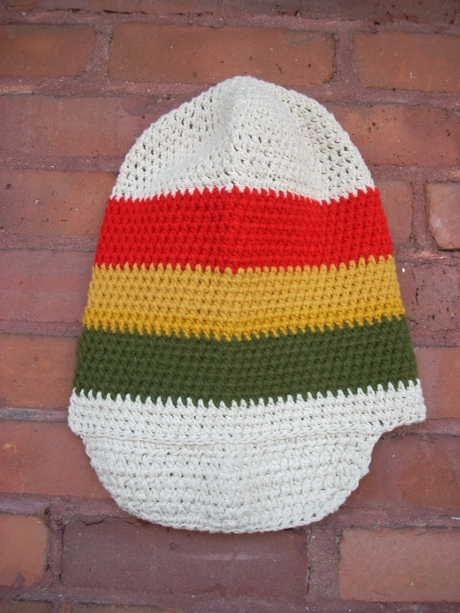 Cotton Crown with Red, Gold & Green