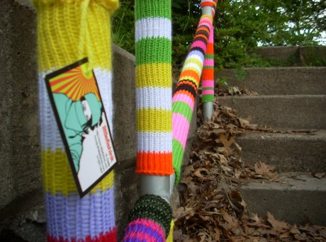 YarnBomb in Pine Point