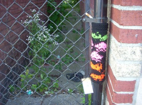 Yarn Bomb @ Game Hunters