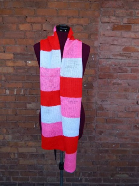 A Little Sweet Candy Scarf