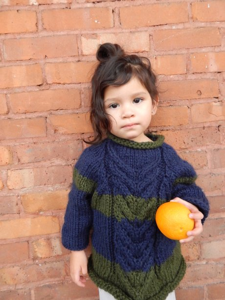 Chunky Yarn Kids Sweater