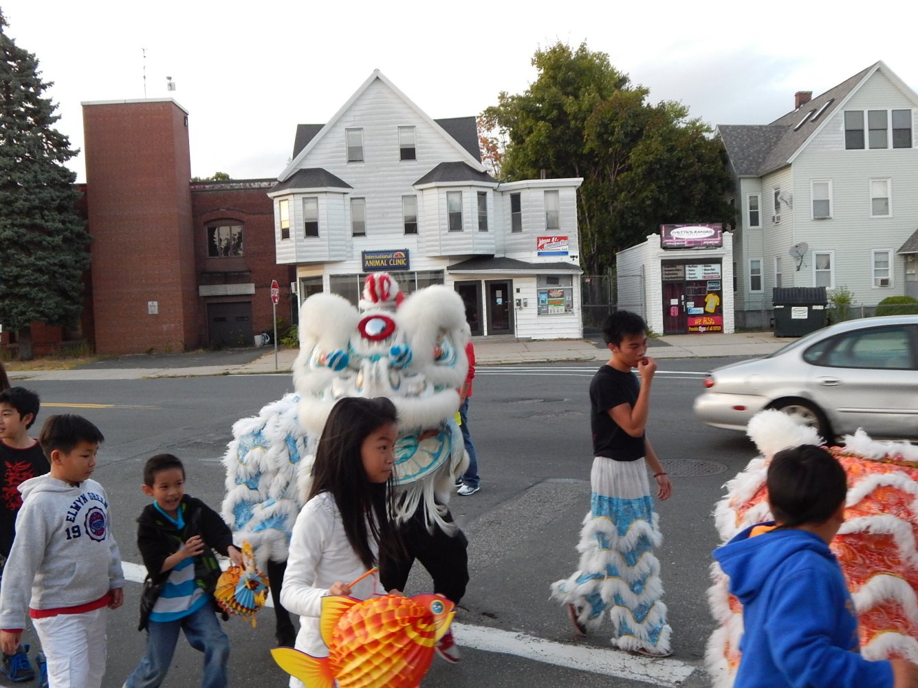 The Hong Tinh Duong Martial Arts and Lion Dance Team  Springfield, Ma.